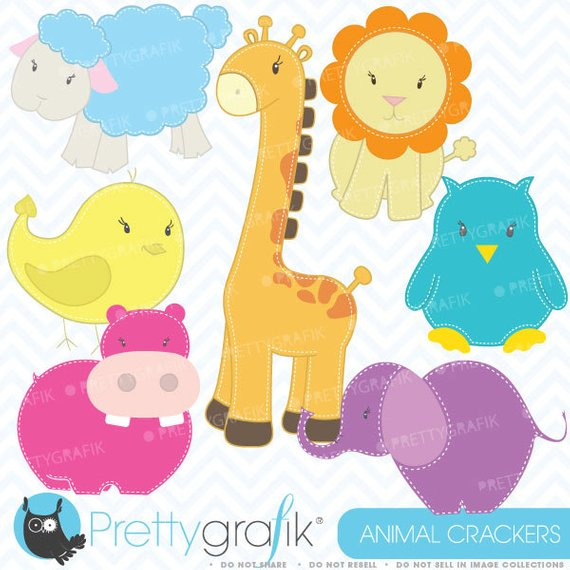zoo animals clipart commercial use, vector graphics, digital clip.