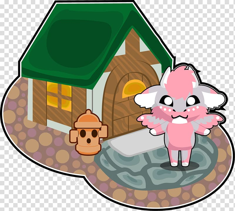 Mammal Character , animal crossing transparent background.