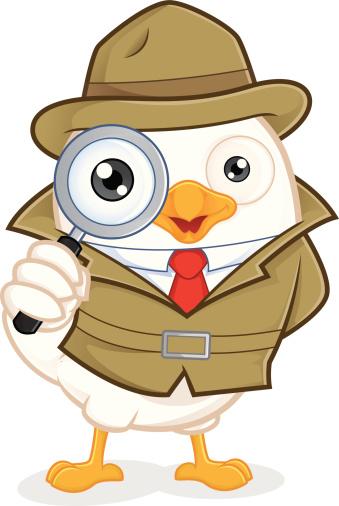 Animal Detective Clipart.