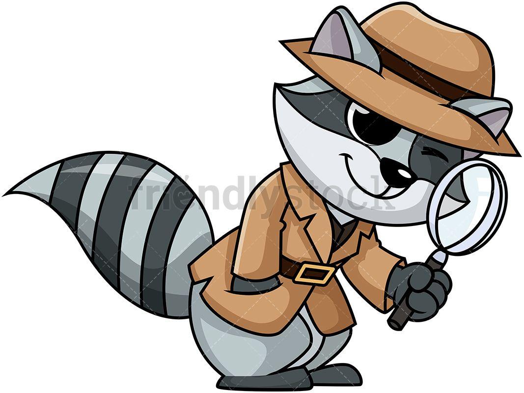 Detective Raccoon in 2019.