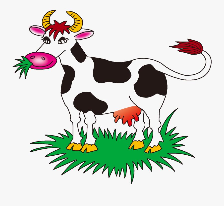 Clip Art Cow Vector Transparent.