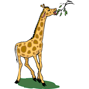 Animals Eating Plants Clipart.