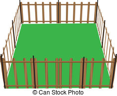 Corral clipart.