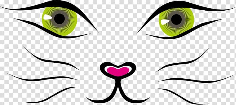 Animal eye illustration, Cat Face Kitten , cat eyes.