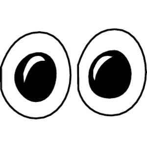 Clipart eyes free.