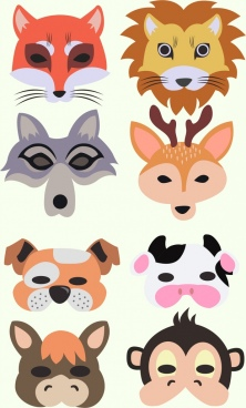 Animal face mask vector free vector download (10,545 Free.