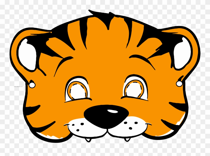 Tiiger Clipart Tiger Mask.