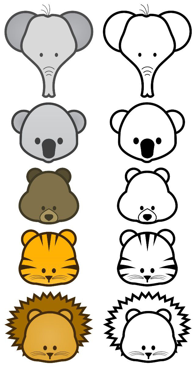 Free Outlines Of Animals, Download Free Clip Art, Free Clip.