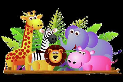 Animal Facts of Dinosaurs, Crocodile, Chameleon, Fish, Frog.