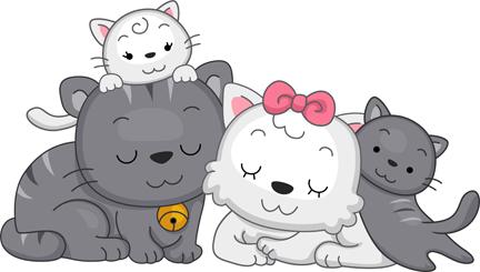 Animal Family Clipart.