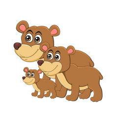 Bear Family Clipart Vector Images (53).