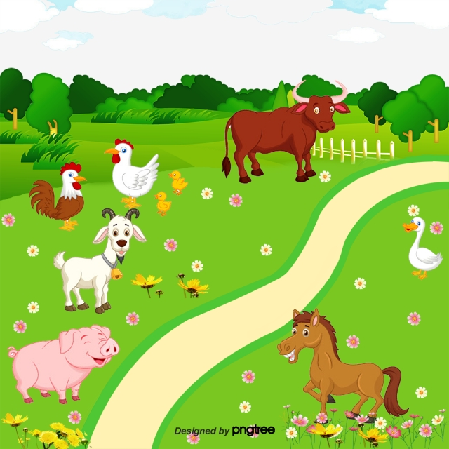 Farm Animals Png, Vector, PSD, and Clipart With Transparent.