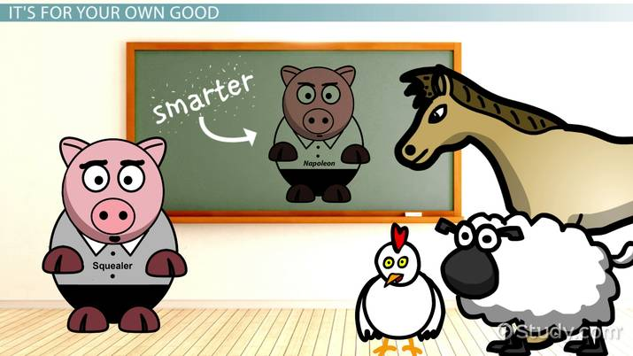 Squealer\'s Quotes from Animal Farm.