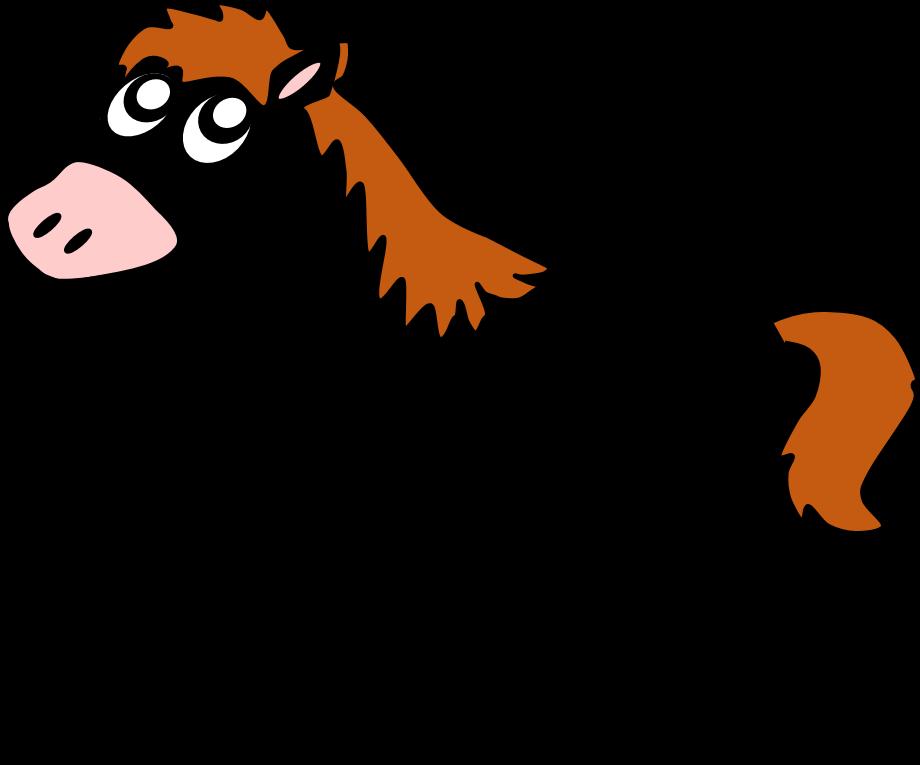 Horse clipart farm animal, Horse farm animal Transparent.