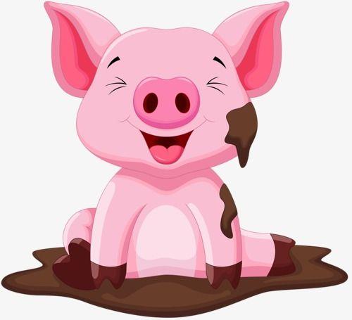 Pig, Pig Clipart, Cartoon Pig, Animal Pig PNG Transparent.