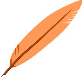 Green Feather Bird Clipart.