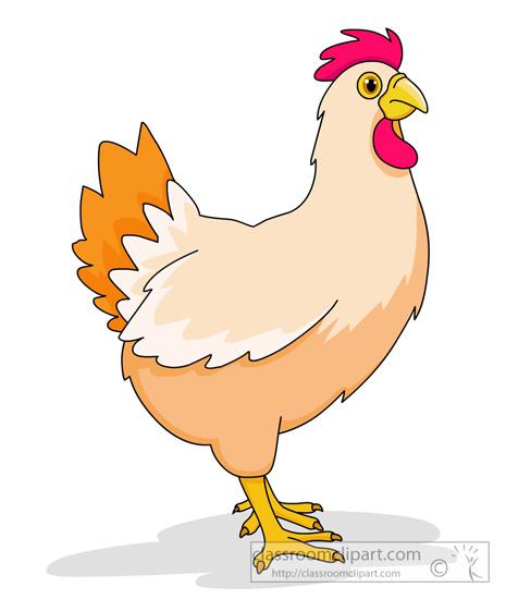 Chicken Farm Clipart.