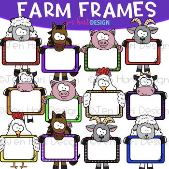 Farm Frame Clip Art: Frame Clipart {jen hart Clip Art}.