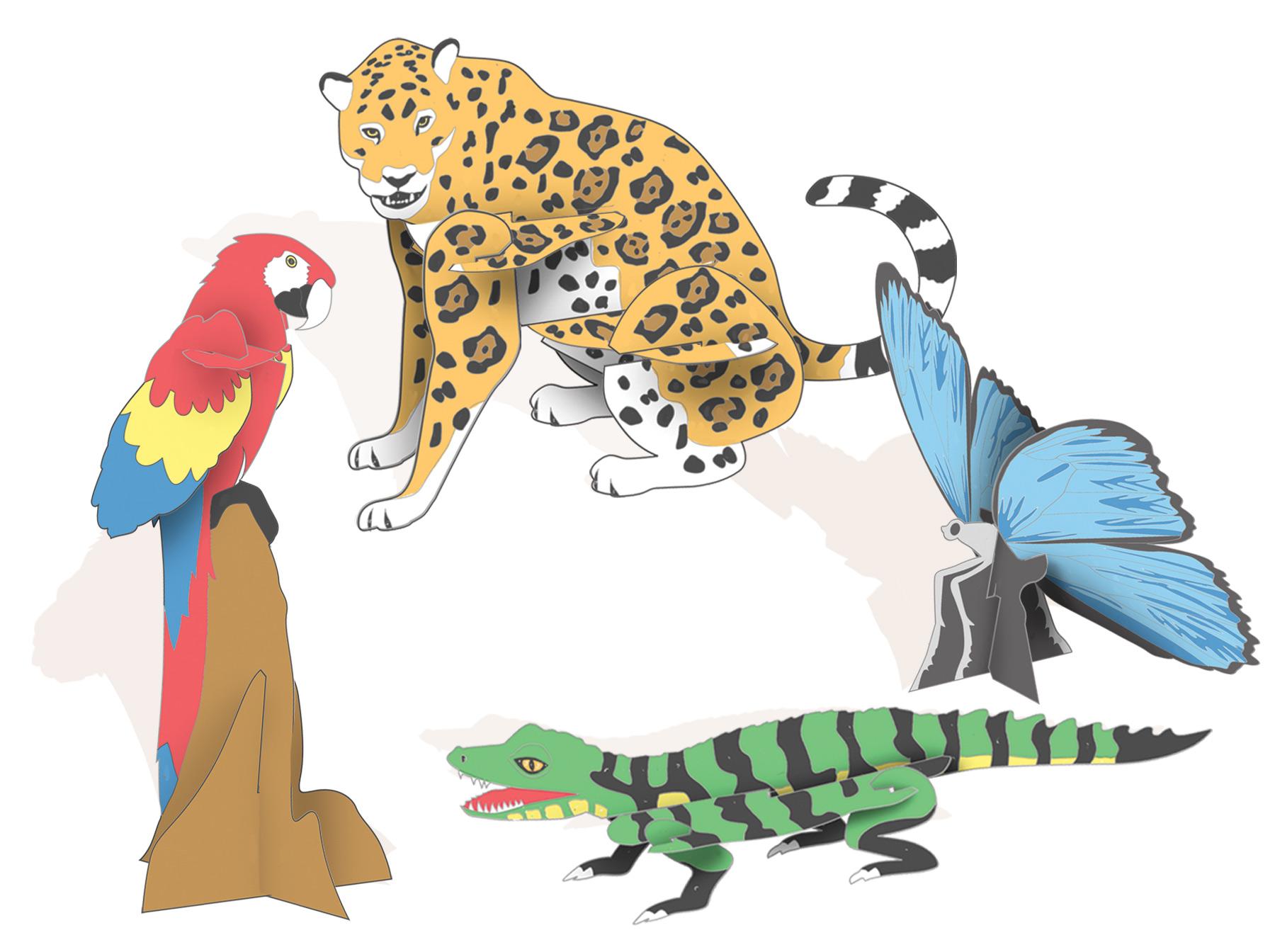 Free Jungle Animals, Download Free Clip Art, Free Clip Art.