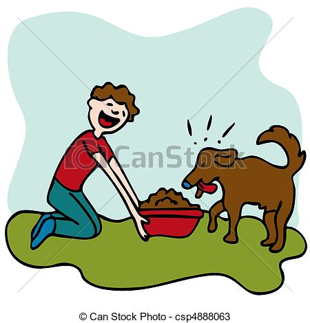 Feed pet clipart.