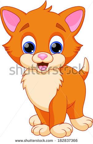 Cute Cat Cartoon Stock Vector 366901319.