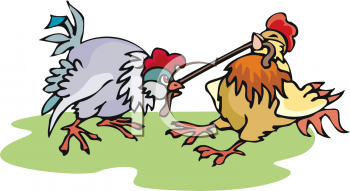 Animals fighting people clipart.