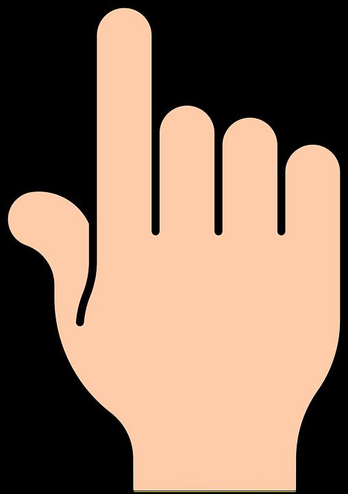 Finger, Pointing.