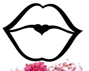 Clipart Of Kisses On Lips.