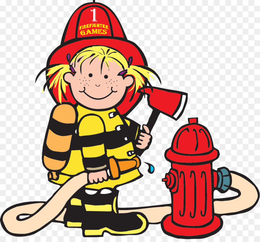 Firefighter Clipart png download.