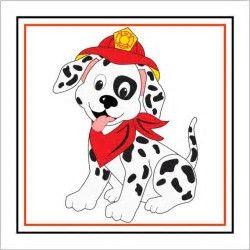 Firefighter clipart firehouse dog, Firefighter firehouse dog.