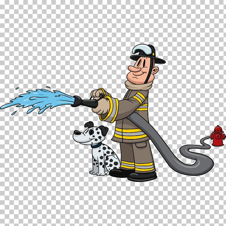 Dalmatian dog Firefighter Cartoon, Dalmatians and.