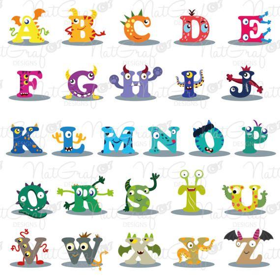 Monster Letters.