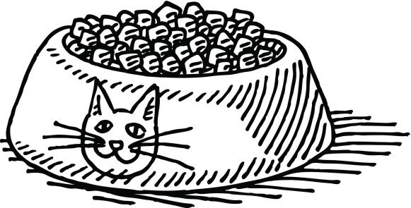 Animal food clipart.