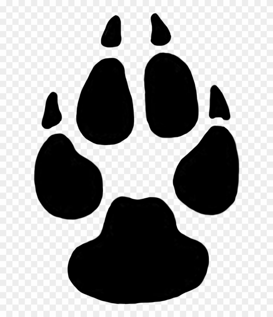 Dog Paw Prints Domestic Dog Cliparts Free Download.