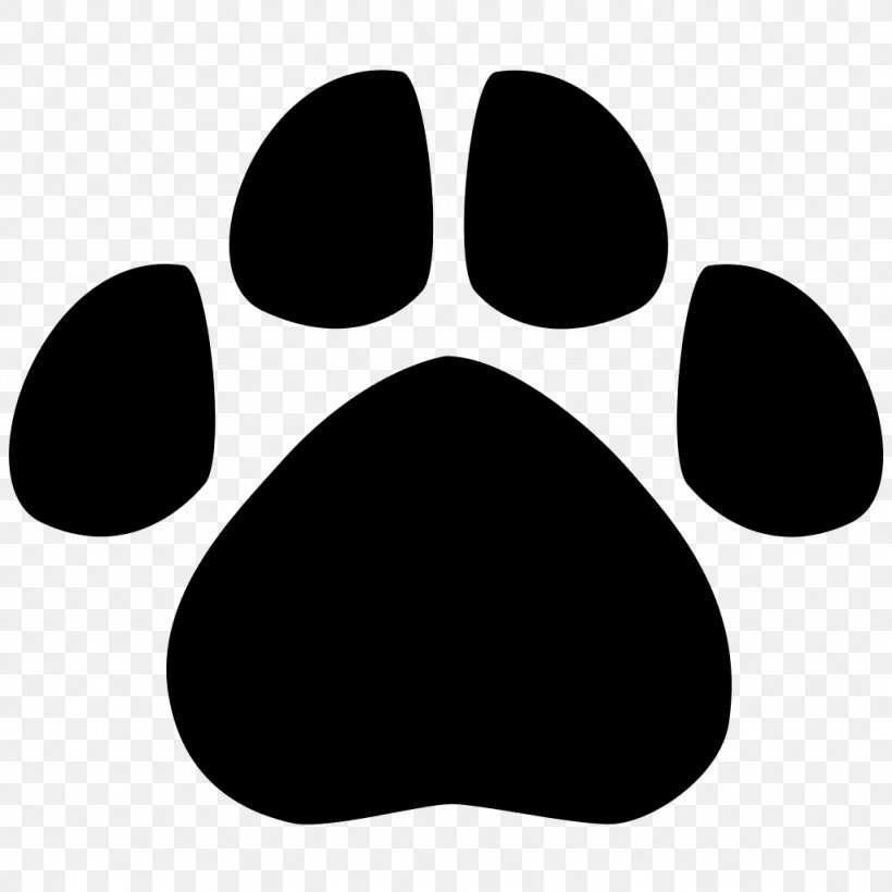 Bear Footprint Animal Track Paw Clip Art, PNG, 1024x1024px.