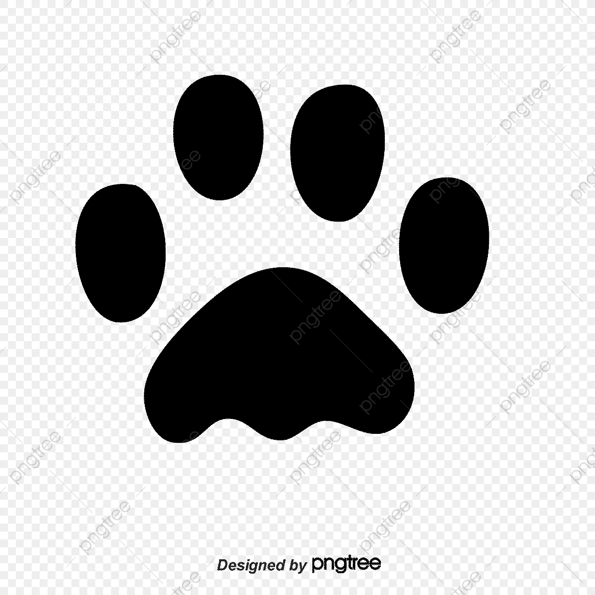 Vector Animal Footprints, Animal Vector, Vector Diagram, Animal.