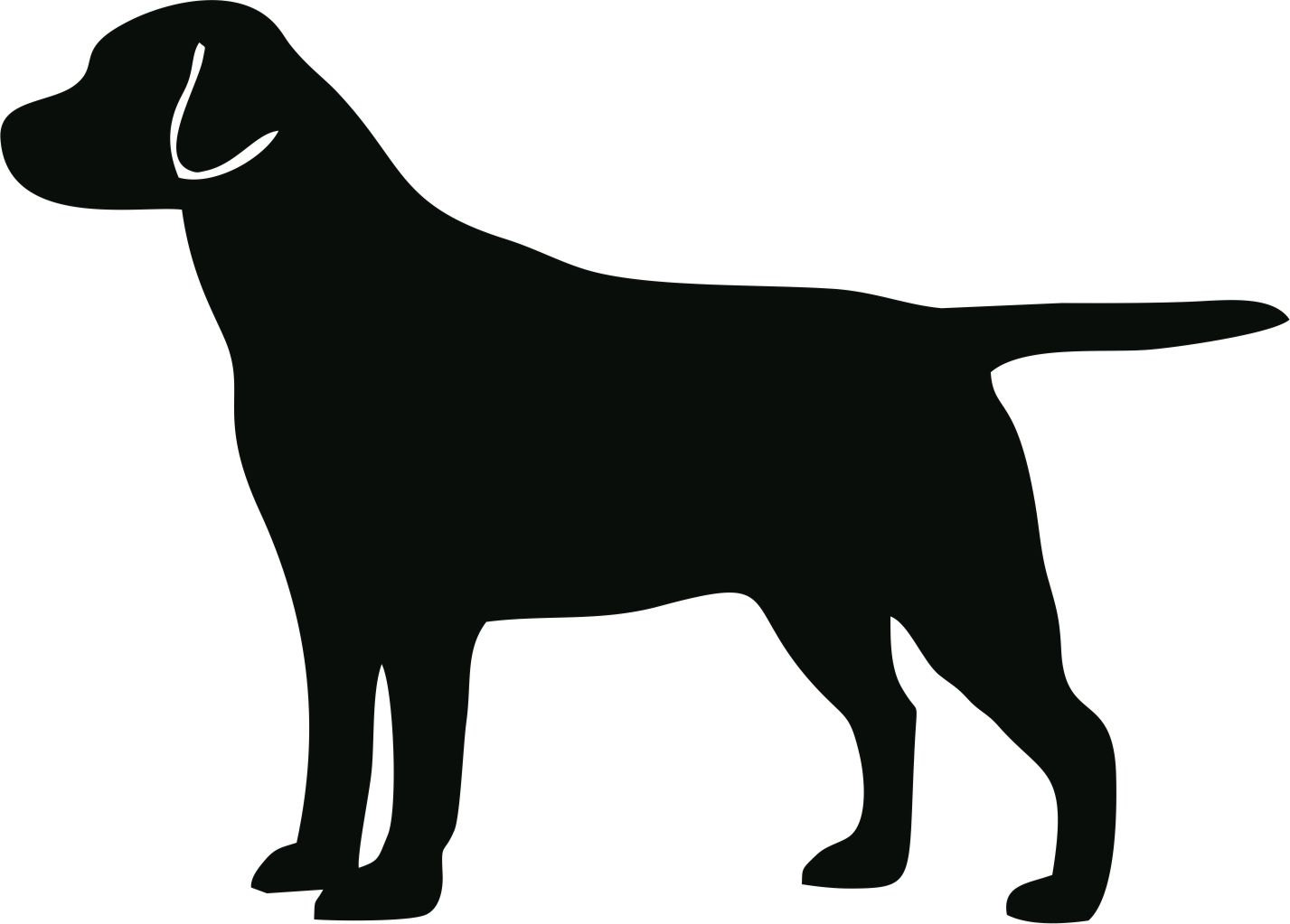 Free Simple Dog Silhouette, Download Free Clip Art, Free.