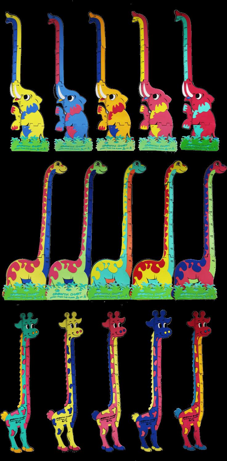 Animal Growth Chart Clipart.