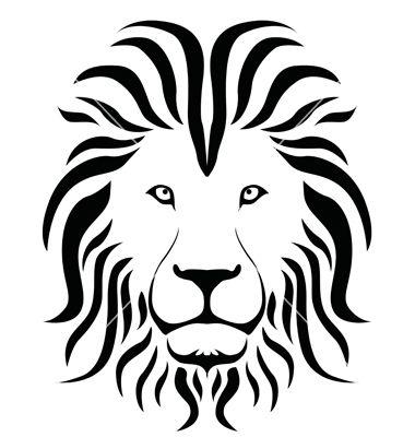lion shilouette clipart.
