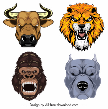 Animal head silhouette free vector download (14,774 Free.