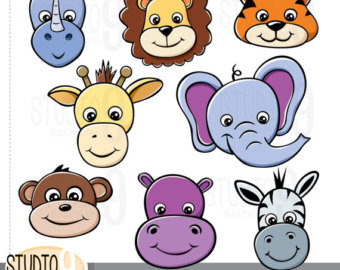 Clipart Animal Heads.