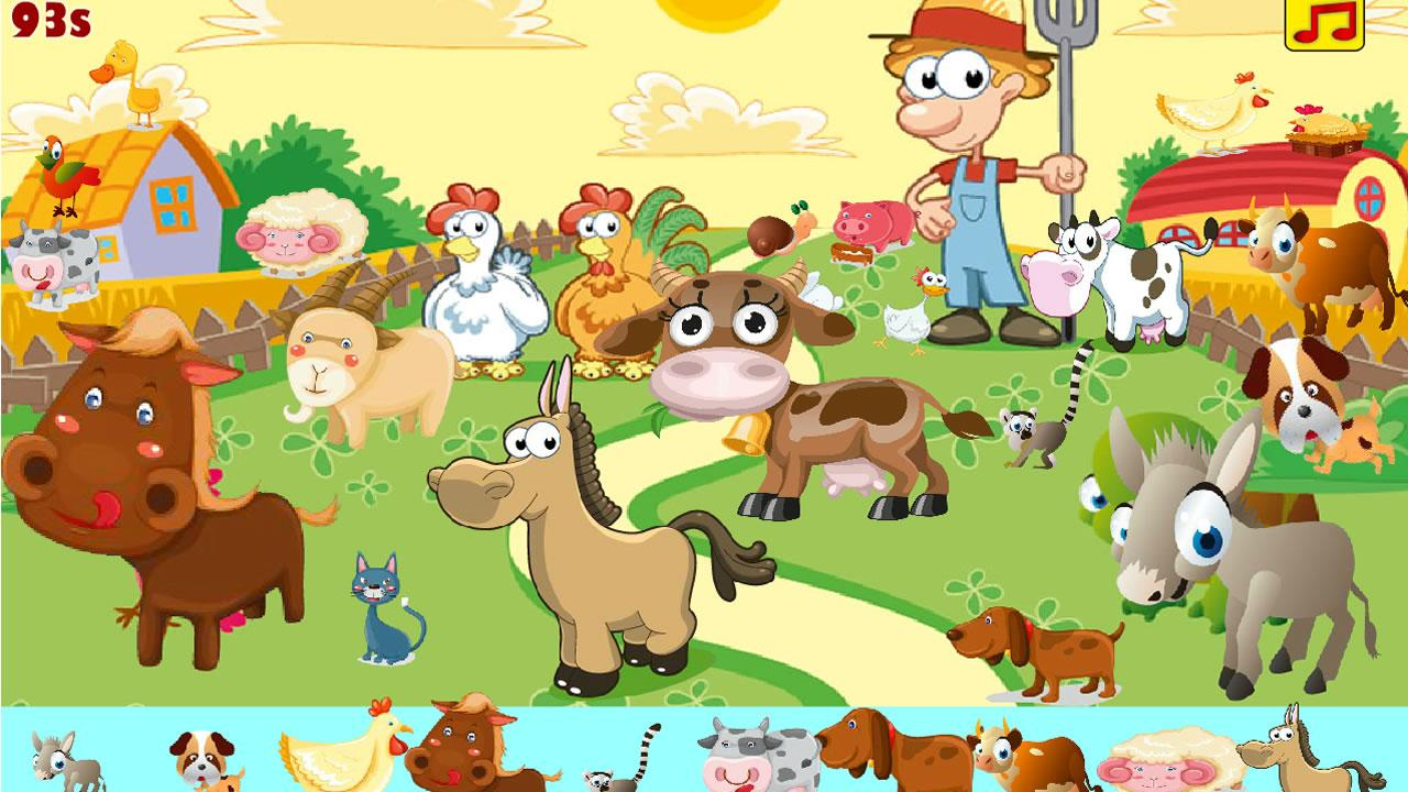 Kids Hidden Animals.