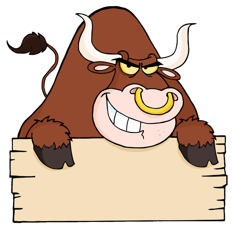 Free vector about bull vector art.Bull Head free clip art, head.