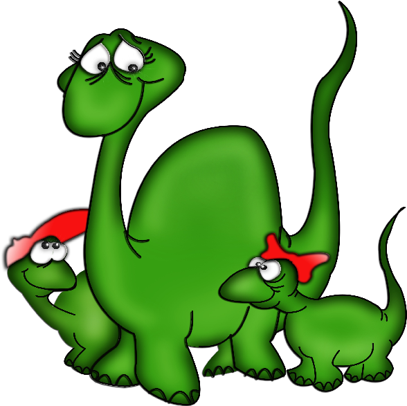 Dinosaur Cute Cartoon Animal Clip Art Images.