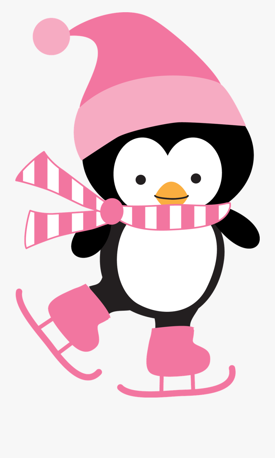 Holiday Clipart Penguin.