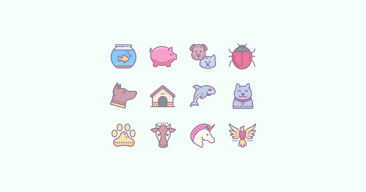 The Cat\'s Meow: Free Animal Clipart and Icons in 20 Design.