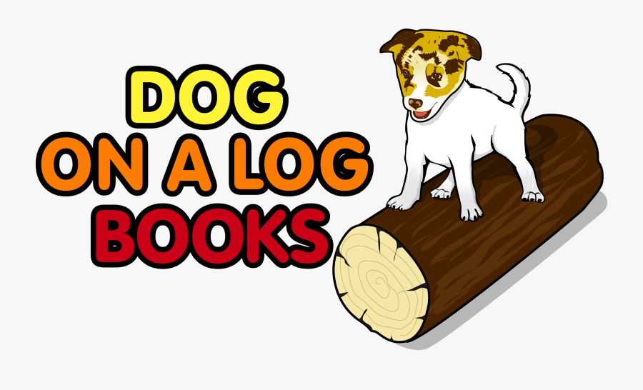 Dog On The Log , Free Transparent Clipart.