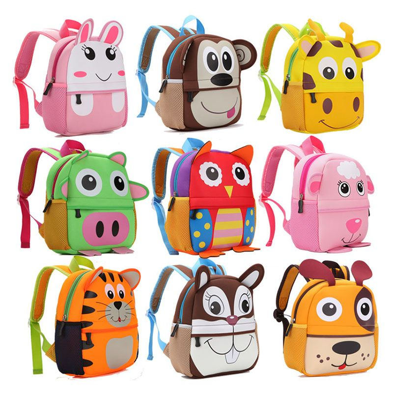 Animal Children School Bag (9 types).