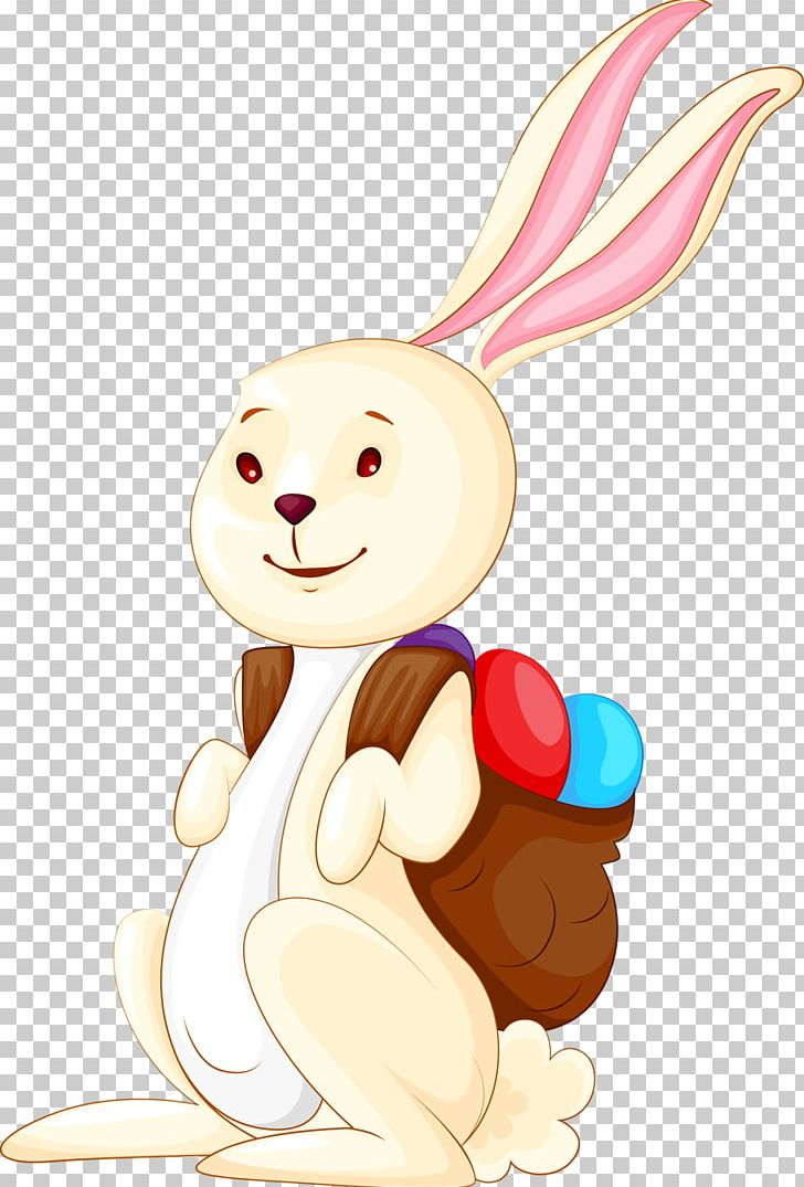 Easter Bunny Rabbit Backpack PNG, Clipart, Animals, Art.