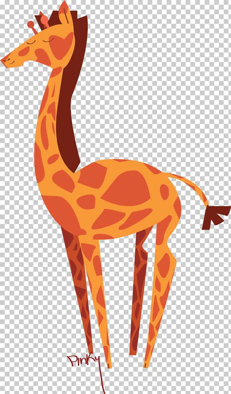 Northern giraffe Animal Backpack Mammal, safari PNG clipart.